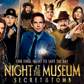 Night at the Museum Secret of the Tomb Trailer
